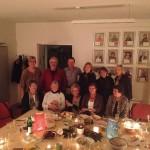 Weihnachtsfeier der Ehrenamtlichen vom Kinderhospizdienst